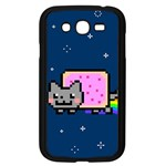 Nyan Cat Samsung Galaxy Grand DUOS I9082 Case (Black) Front