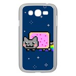 Nyan Cat Samsung Galaxy Grand DUOS I9082 Case (White) Front