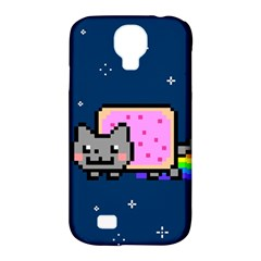 Nyan Cat Samsung Galaxy S4 Classic Hardshell Case (pc+silicone)