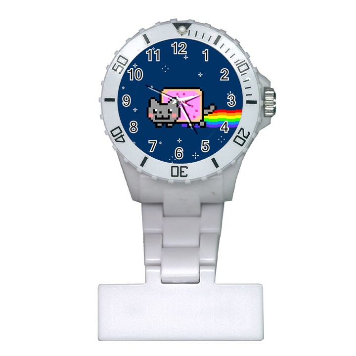 Nyan Cat Plastic Nurses Watch