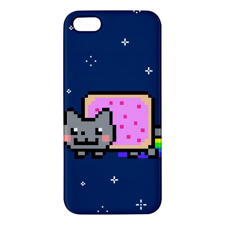 Nyan Cat iPhone 5S/ SE Premium Hardshell Case