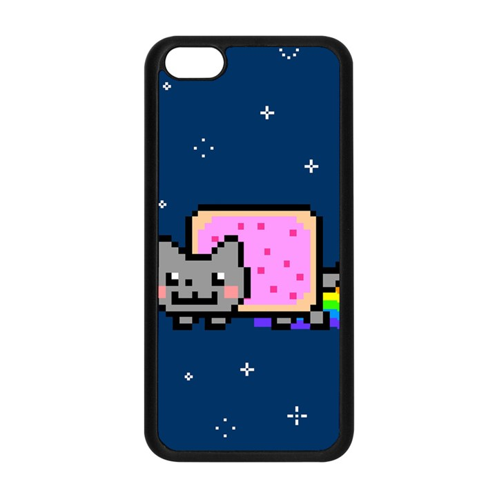 Nyan Cat Apple iPhone 5C Seamless Case (Black)