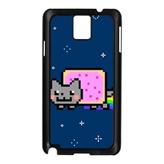 Nyan Cat Samsung Galaxy Note 3 N9005 Case (black)