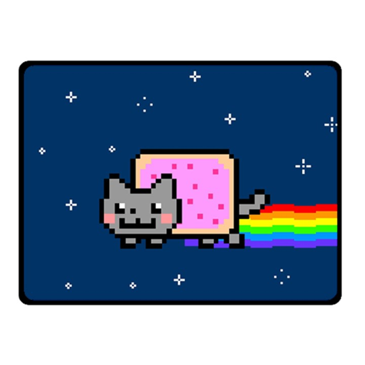 Nyan Cat Double Sided Fleece Blanket (Small)