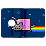 Nyan Cat Kindle Fire HDX Flip 360 Case Front