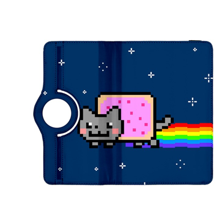Nyan Cat Kindle Fire HDX 8.9  Flip 360 Case