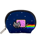 Nyan Cat Accessory Pouches (Small)  Front