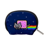 Nyan Cat Accessory Pouches (Small)  Back