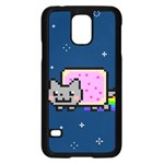 Nyan Cat Samsung Galaxy S5 Case (Black) Front