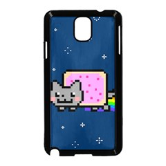 Nyan Cat Samsung Galaxy Note 3 Neo Hardshell Case (black)