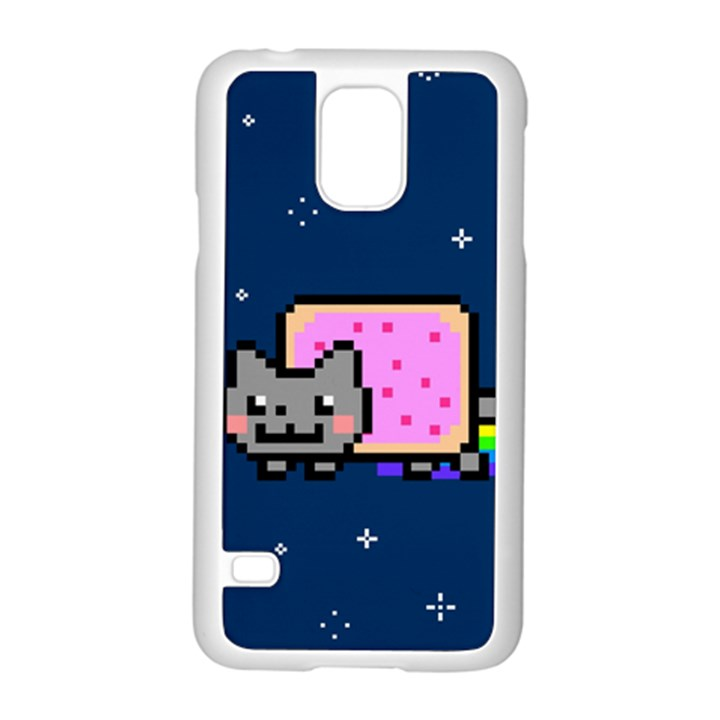 Nyan Cat Samsung Galaxy S5 Case (White)