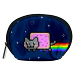 Nyan Cat Accessory Pouches (Medium)  Front
