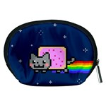Nyan Cat Accessory Pouches (Medium)  Back