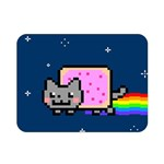 Nyan Cat Double Sided Flano Blanket (Mini)  35 x27 Blanket Back