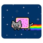 Nyan Cat Double Sided Flano Blanket (Small)  50 x40 Blanket Front