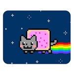 Nyan Cat Double Sided Flano Blanket (Large)  80 x60 Blanket Front