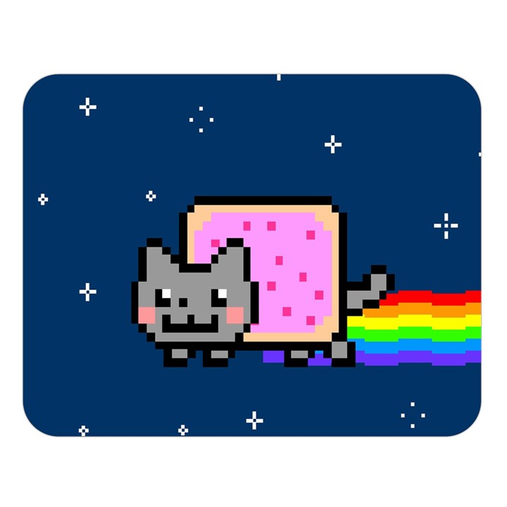 Nyan Cat Double Sided Flano Blanket (Large)