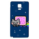 Nyan Cat Galaxy Note 4 Back Case Front