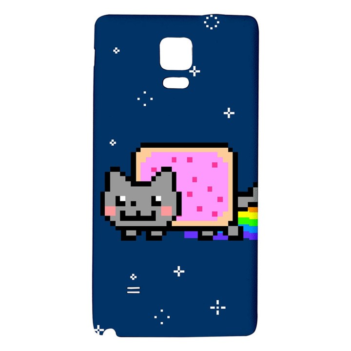 Nyan Cat Galaxy Note 4 Back Case