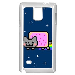 Nyan Cat Samsung Galaxy Note 4 Case (White)