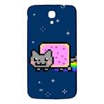 Nyan Cat Samsung Galaxy Mega I9200 Hardshell Back Case Front
