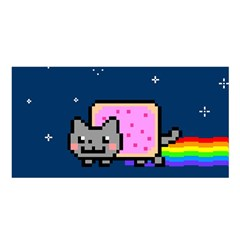 Nyan Cat Satin Shawl