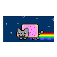 Nyan Cat Satin Wrap