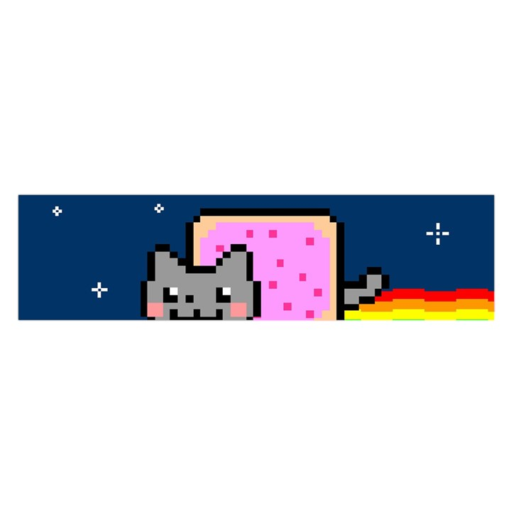 Nyan Cat Satin Scarf (Oblong)