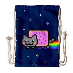 Nyan Cat Drawstring Bag (Large)