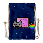 Nyan Cat Drawstring Bag (Large) Front