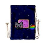 Nyan Cat Drawstring Bag (Small) Front