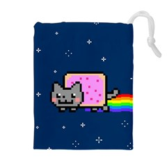 Nyan Cat Drawstring Pouches (Extra Large)