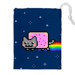 Nyan Cat Drawstring Pouches (XXL) Front