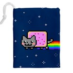 Nyan Cat Drawstring Pouches (XXL) Back