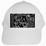 Panic ! At The Disco Lyric Quotes White Cap Front