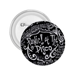 Panic ! At The Disco Lyric Quotes 2 25  Buttons