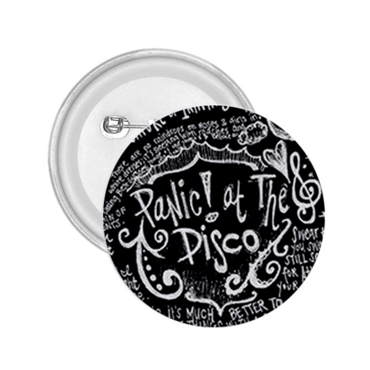 Panic ! At The Disco Lyric Quotes 2.25  Buttons