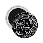 Panic ! At The Disco Lyric Quotes 2.25  Magnets Front