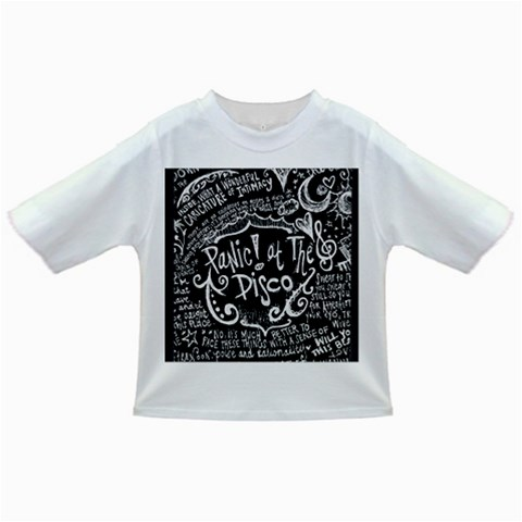 Panic ! At The Disco Lyric Quotes Infant/Toddler T-Shirts