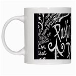 Panic ! At The Disco Lyric Quotes White Mugs Left