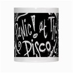 Panic ! At The Disco Lyric Quotes White Mugs Center