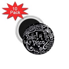 Panic ! At The Disco Lyric Quotes 1 75  Magnets (10 Pack)