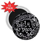 Panic ! At The Disco Lyric Quotes 2.25  Magnets (10 pack)  Front