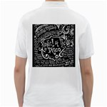 Panic ! At The Disco Lyric Quotes Golf Shirts Back