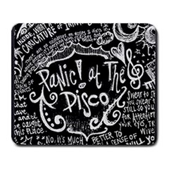Panic ! At The Disco Lyric Quotes Large Mousepads