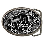 Panic ! At The Disco Lyric Quotes Belt Buckles Front