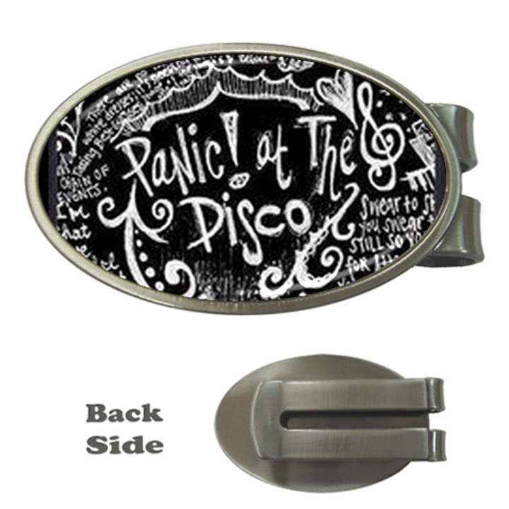 Panic ! At The Disco Lyric Quotes Money Clips (Oval)