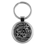 Panic ! At The Disco Lyric Quotes Key Chains (Round)  Front