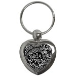 Panic ! At The Disco Lyric Quotes Key Chains (Heart)  Front