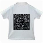 Panic ! At The Disco Lyric Quotes Kids White T-Shirts Back